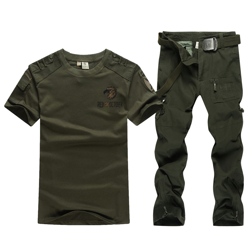 Military wild line of outdoor summer suit male special forces training uniform camouflage military uniforms overalls military fans mountaineering Costumes