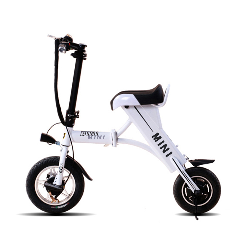 Mini folding electric car electric car driving on behalf of the two rounds of portable adult electric scooter lithium battery electric bicycle