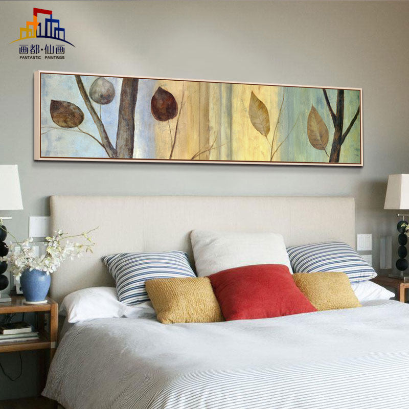 Minimalist sofa backdrop bedroom bedside paintings decorative painting paintings hotel entrance hallway paintings den
