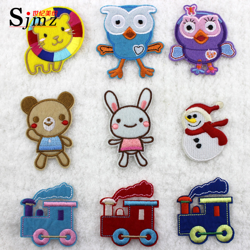 Miori century cartoon stickers cloth clothes patch affixed adhesive stickers affixed children baby cloth stickers hot paste