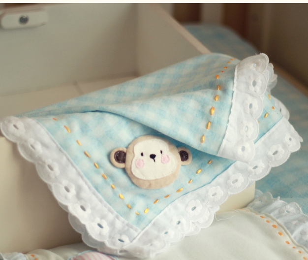 Mira pula monkey baby exclusive original design handmade handmade diy material package produced commemorative sheets