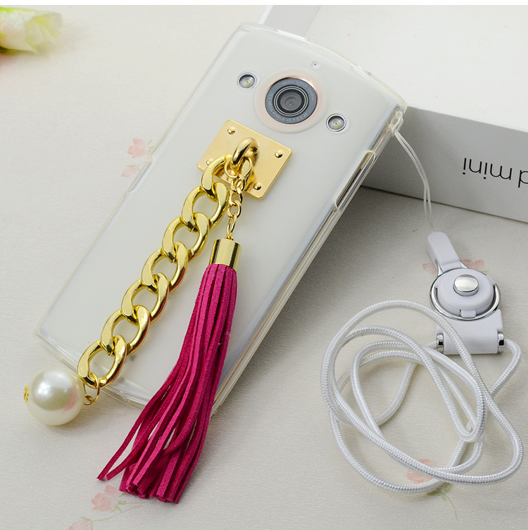 Mito mito phone m4 m4 phone shell mobile phone sets of silicone creative female models lanyard whole package drop soft shell female models