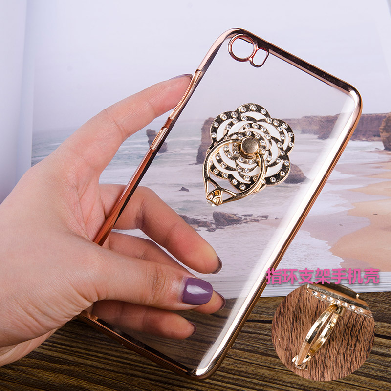 Miui/millet millet 5 mobile phone shell plating 5 luxury mobile phone shell tpu soft cover millet millet 5 transparent shell plating