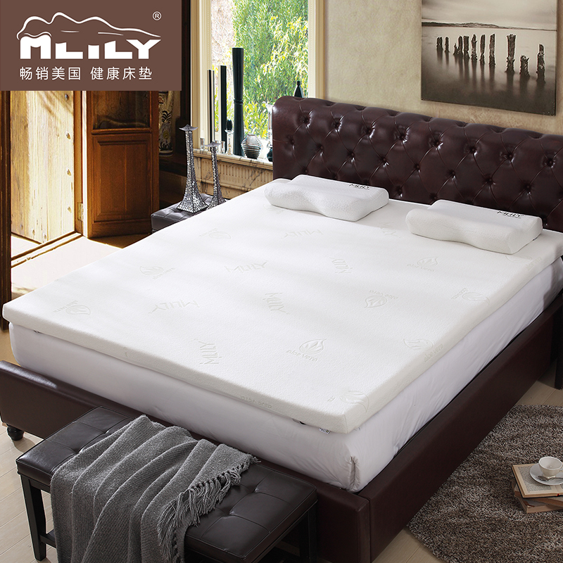Mlily memory foam mattress mattress foam mattress m double thick tatami mattress dormitories