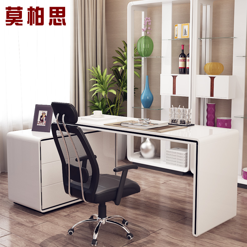 Get Ations Mobo Si Modern Paint Rotating Cabinet Desk Home Computer Corner Chair Combination