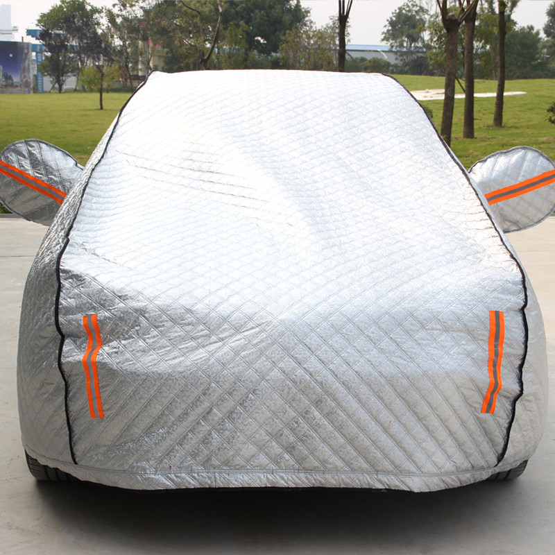 Modern lang dynamic new four seasons general motors thick aluminum sewing sun insulation car cover car cover rain and dust