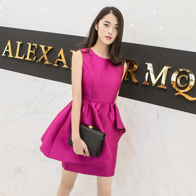 Mofan movado 2016 autumn dress slim banquet evening dress evening dress skirt 2109 new fashion festive