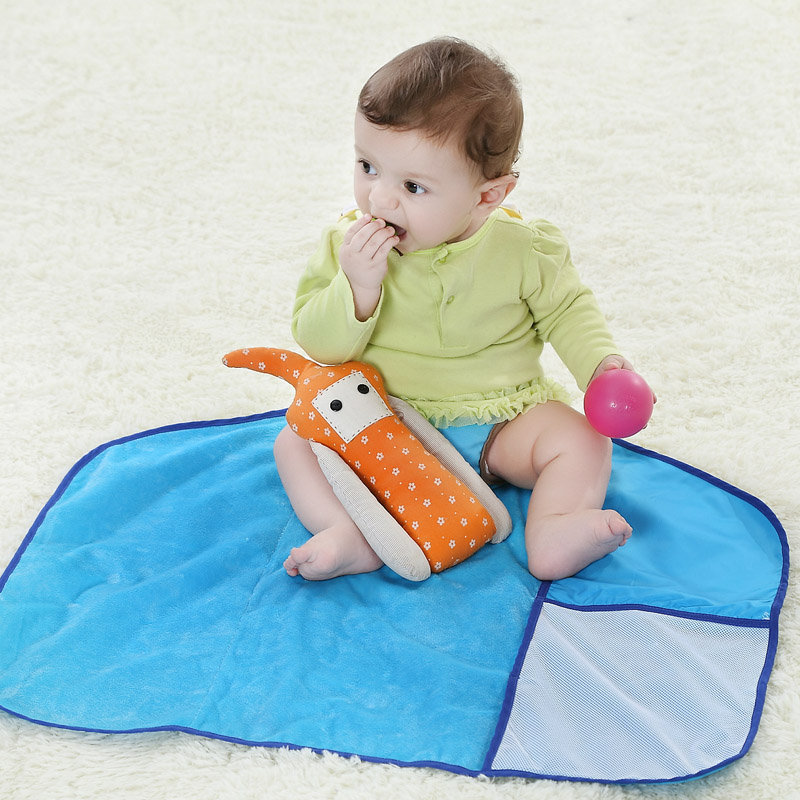 Mom choice genuine baby baby changing mat waterproof breathable oversized baby changing mat bamboo fiber newborn supplies