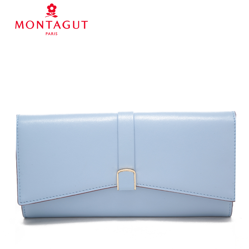 Montagut/montagut montagut 2016 new women's two fold wallet women wallet jane about organ package