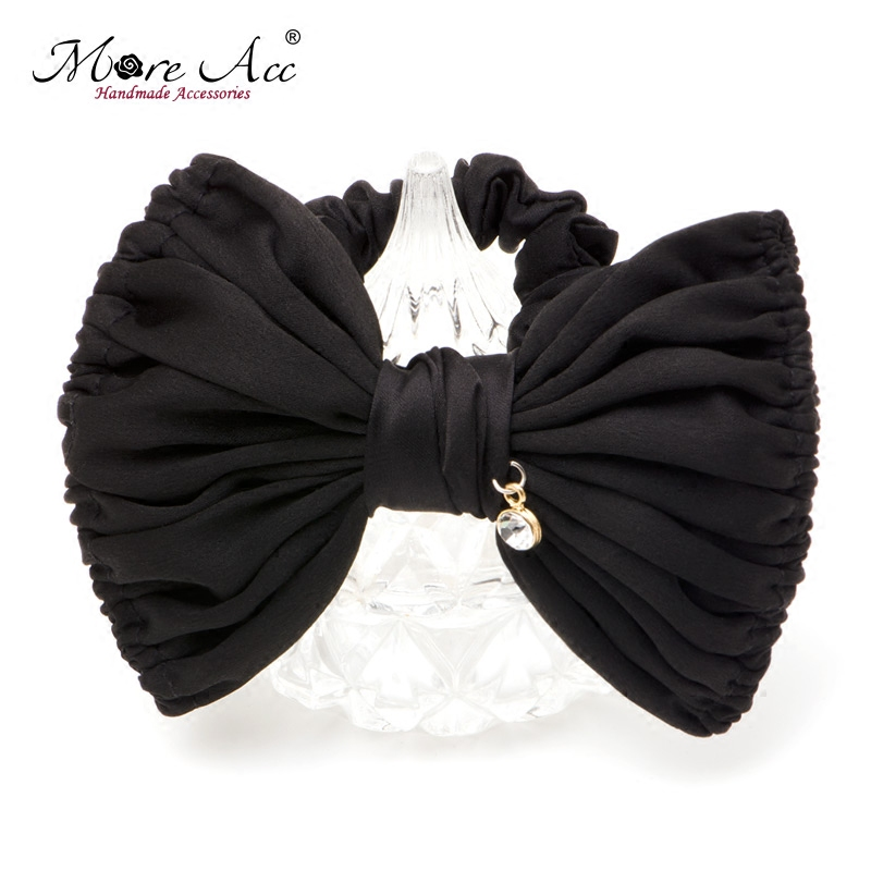 More Acc2016 hair accessories big bow hair rope korean hair ring hair jewelry tousheng korean female head flower head tie