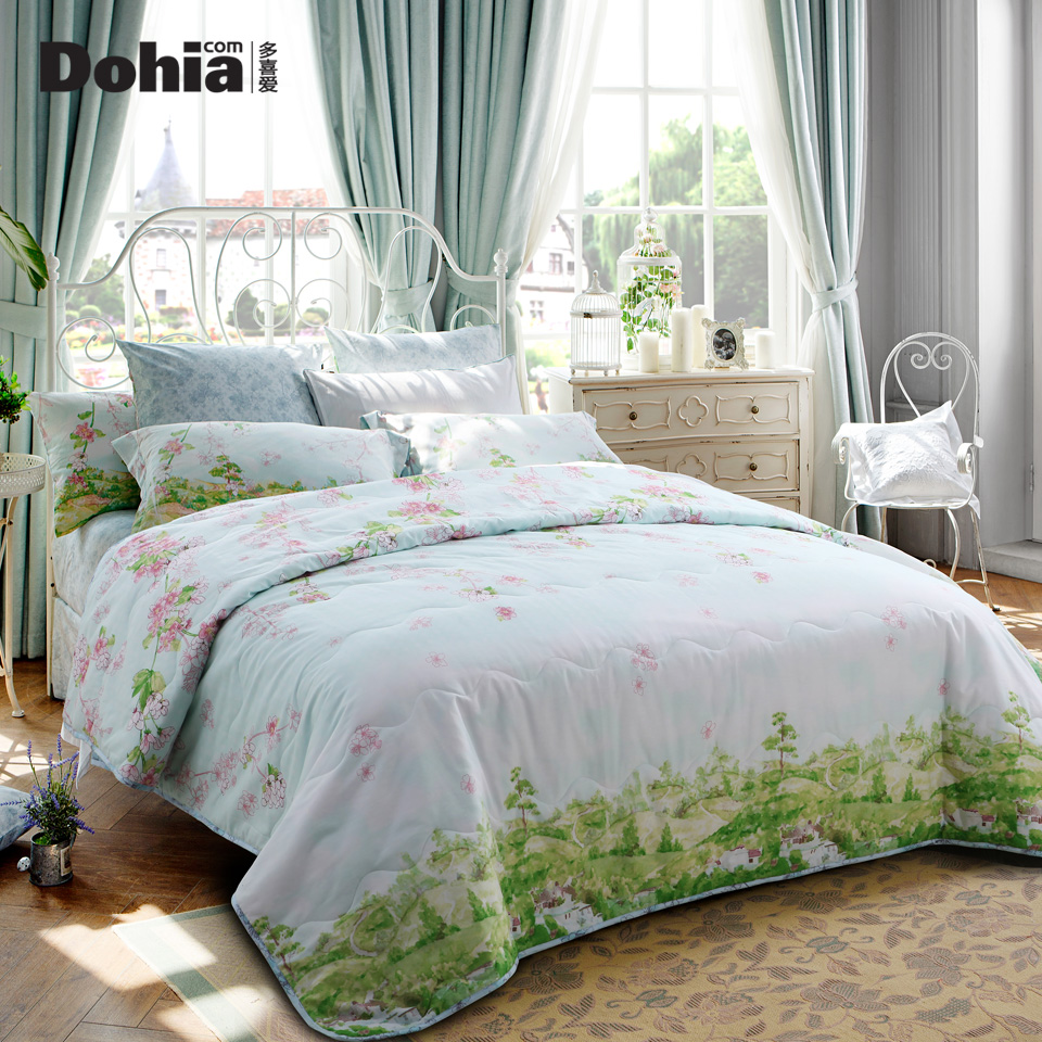 More like 2016 new spring and summer cotton summer was cooler summer air conditioning is cool in summer bedding loire hong fort