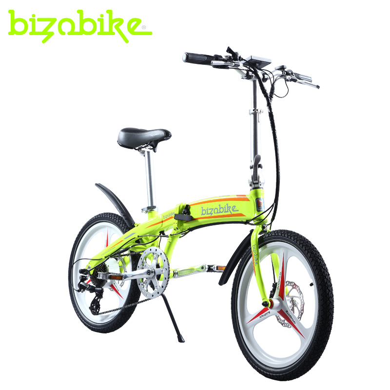 More than 20 ao inch scooter electric car hidden wisdom can folding electric bike lithium battery car driving on behalf of the double disc