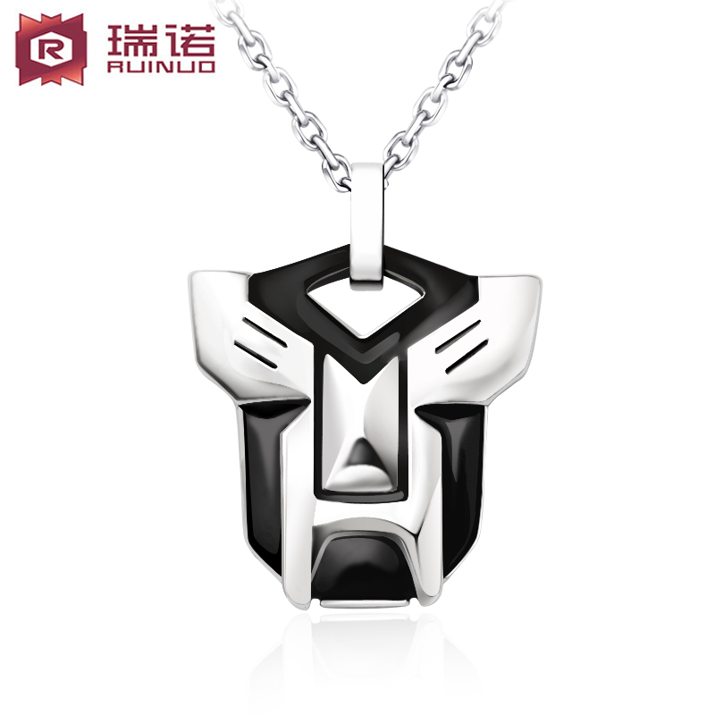 Moreno titanium steel pendant transformers men epoxy pendant male models personalized fashion jewelry