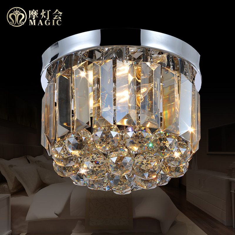 Moroccan lantern chandelier crystal lamp bedroom dining hallway entrance hallway lighting modern minimalist led crystal ceiling lamps
