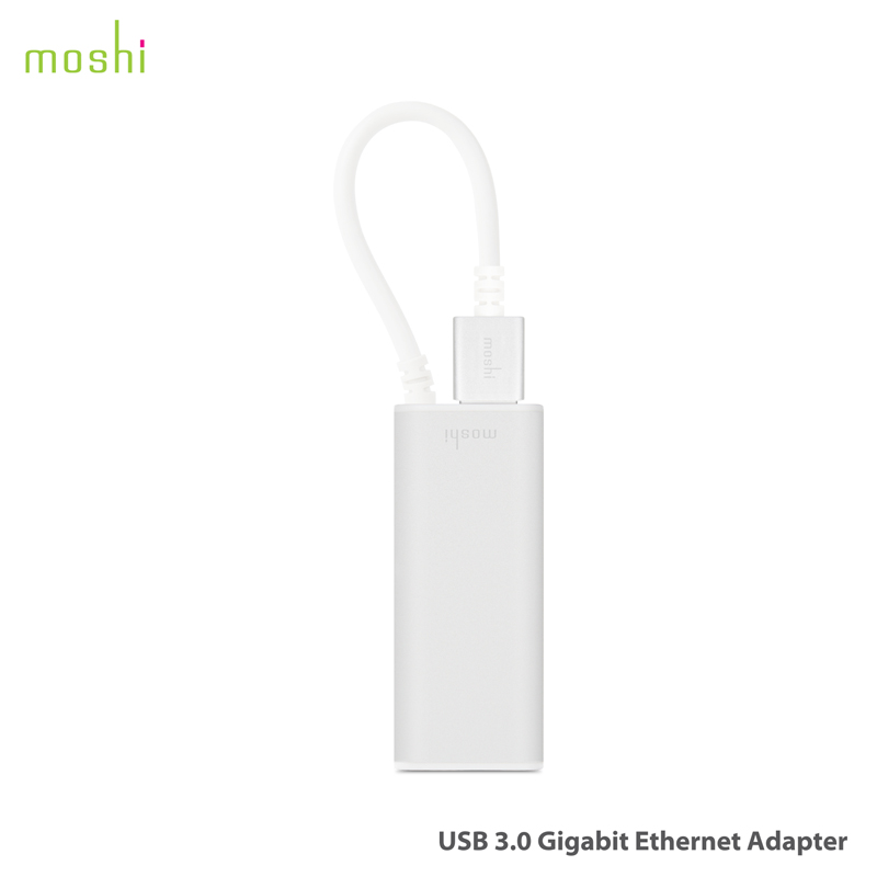 Moshi moshi apple laptop macbook air pro usb3.0 ethernet converter head