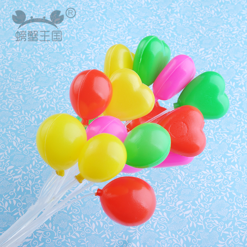 Moss micro landscape ornaments diy toy creative cartoon cute little ornaments round balloon heart balloon