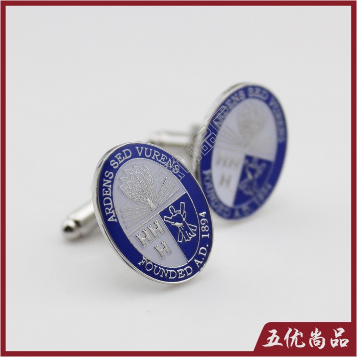 Most cattle diy custom made custom metal cufflinks cufflinks cufflinks epoxy paint production outlets in