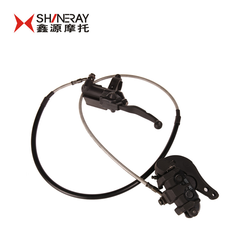 Motorcycle accessories xinyuan xinyuan x2 accessories front brake hydraulic pump-with polished aluminum handle-tubing