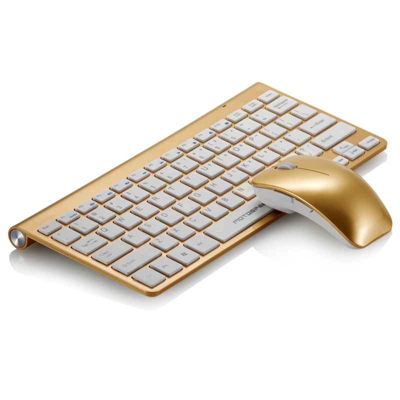 Mount leopard thin apple wireless mouse and keyboard set g9800 tyrant gold mute notebook this wireless keyboard and mouse kit