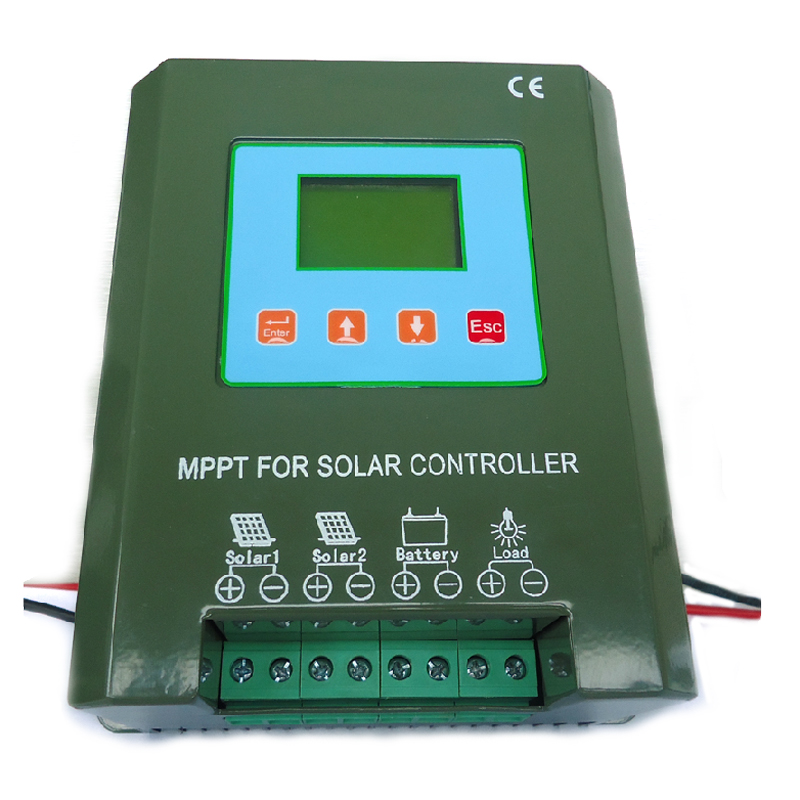 MPPT24V60A photosynthetic solar controller street light controller solar charge controller charge and discharge