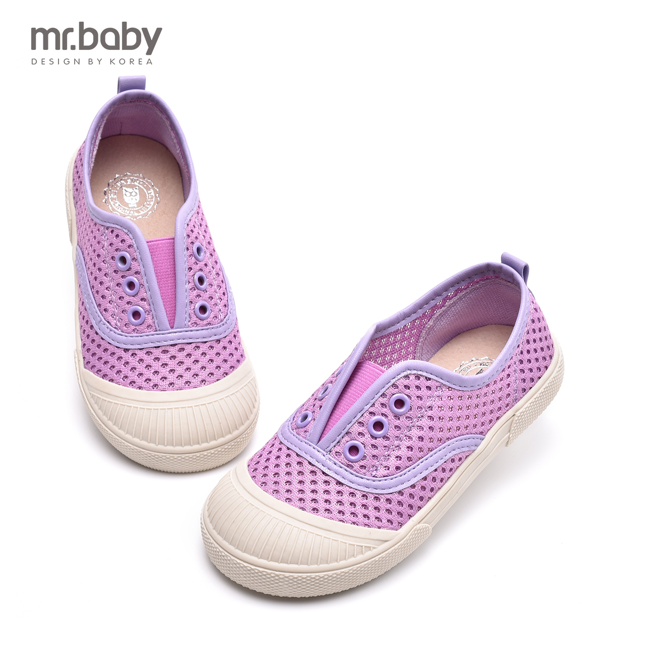 Mr. baby 2016 korean female children's dot mesh girls sports shoes new fashion casual shoes shell head