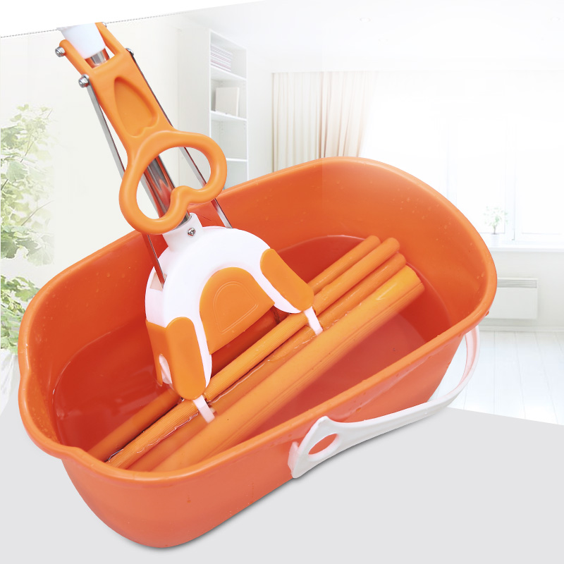 Mrs. le large rectangular thick plastic cotton mop mop bucket mop bucket car wash bucket portable bucket basin