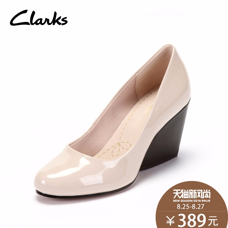 Ms. 15 new spring and summer to help low shoes clarks shoes wedge heel shoes demerara spice