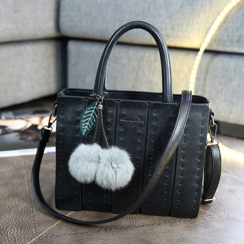 Ms. 2016 spring new european and american minimalist retro casual fashion handbags shoulder bag diagonal portable female bag