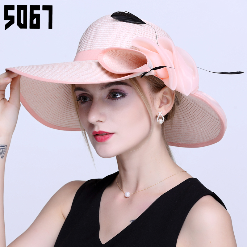 Ms. hat korean female summer travel sun hat large brimmed sun hat summer sun hat beach hat beach hat