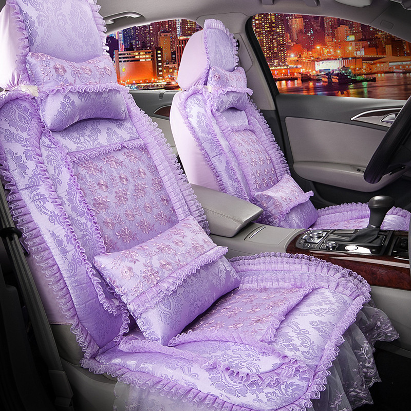 Ms. lace seat covers car seat cover cartoon special seat cover new four seasonsæå…å¡æé¿benitez seat covers