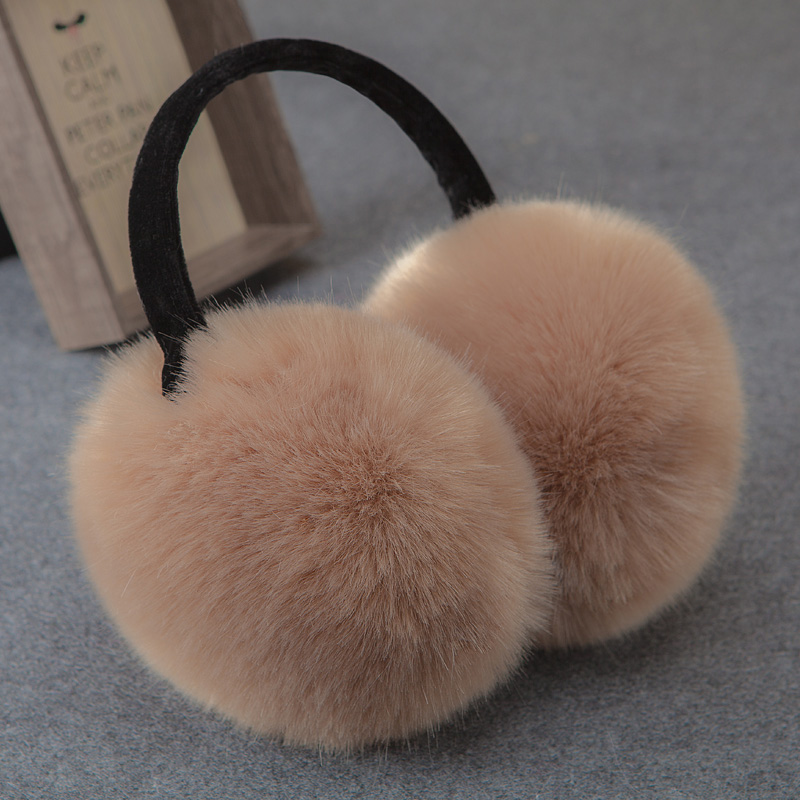 Ms. men's ears warm ear package earmuffs earmuffs warm ear cover ear ear cover their ears female winter cute plush