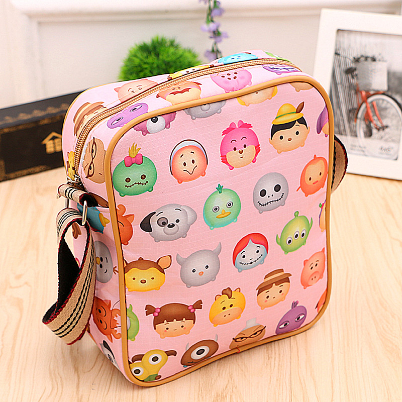 Ms. messenger bag new korean version of the trend of young student thick cloth small square bag shoulder bag shopping and leisure