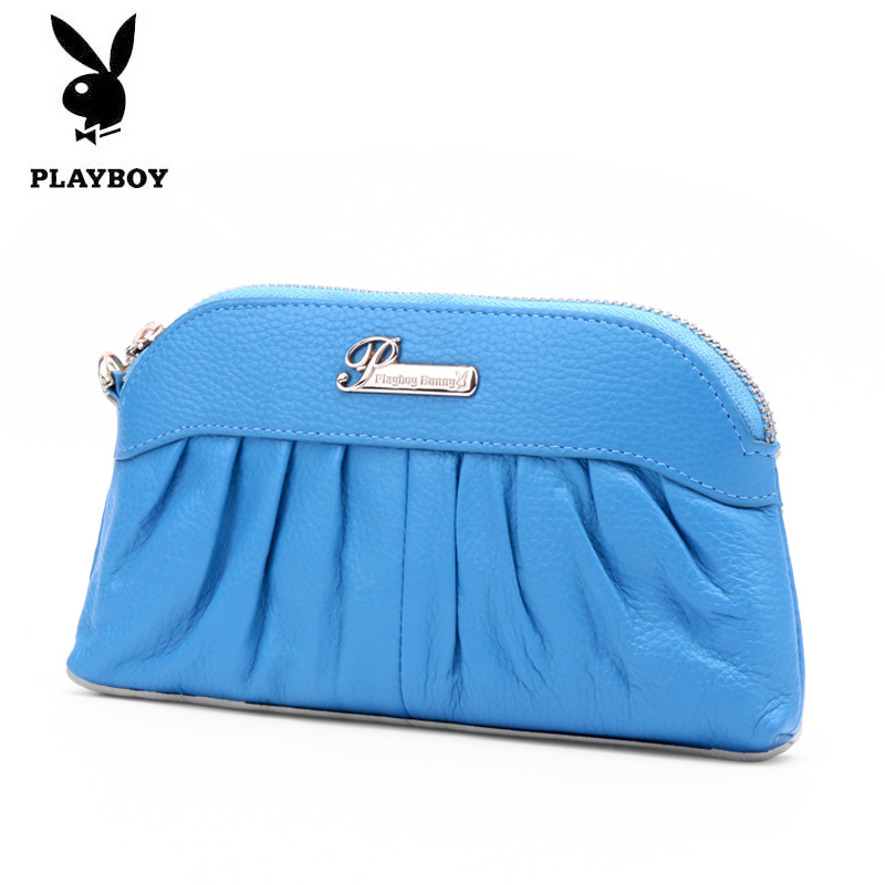 Ms. playboy fashion women leather clutch handbag clutch bag long paragraph money clip female PCB3791-4Y