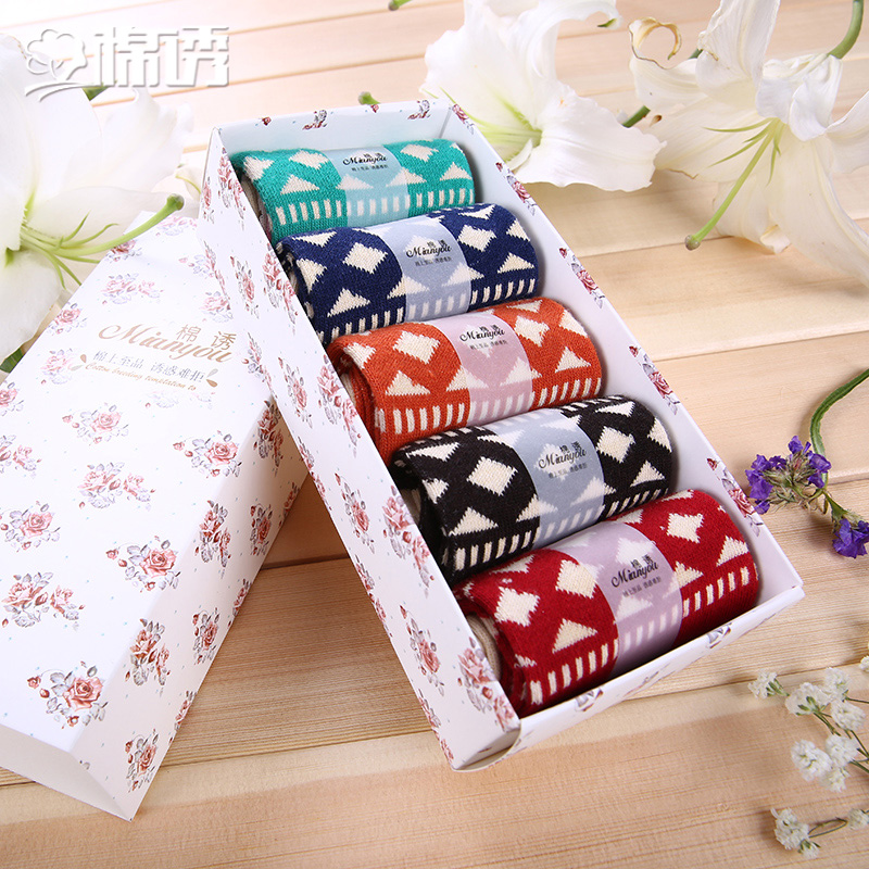 Ms. spring and summer to help low socks boat socks shallow mouth cotton lure of japanese cotton socks duantong female gift free shipping