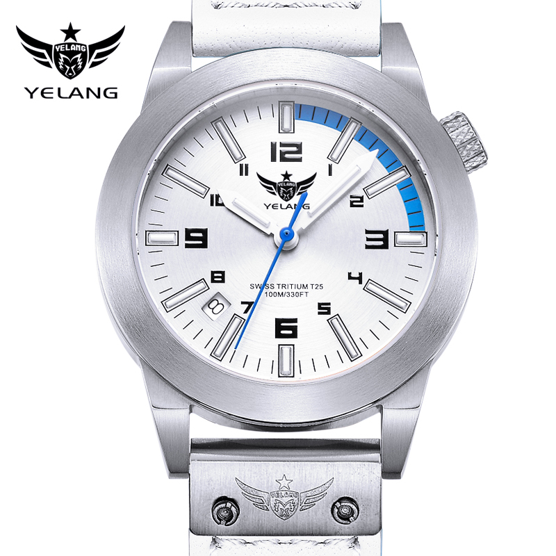 Ms. wolf watches stainless steel quartz watch female form military form luminous watches waterproof sports watch v1010