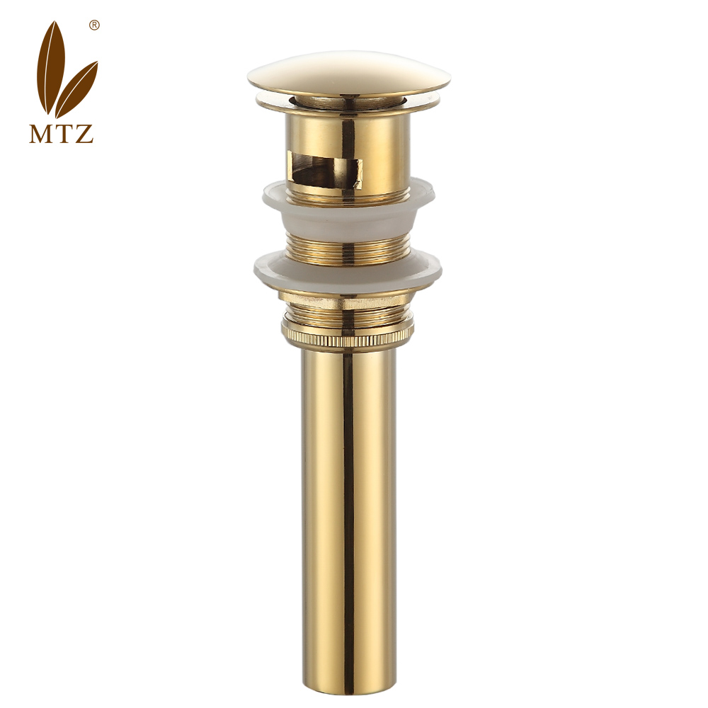 Mtz golden bouncing all copper basin vanity basin drainer with attempts to prevent odor pest sewer pipe shipping