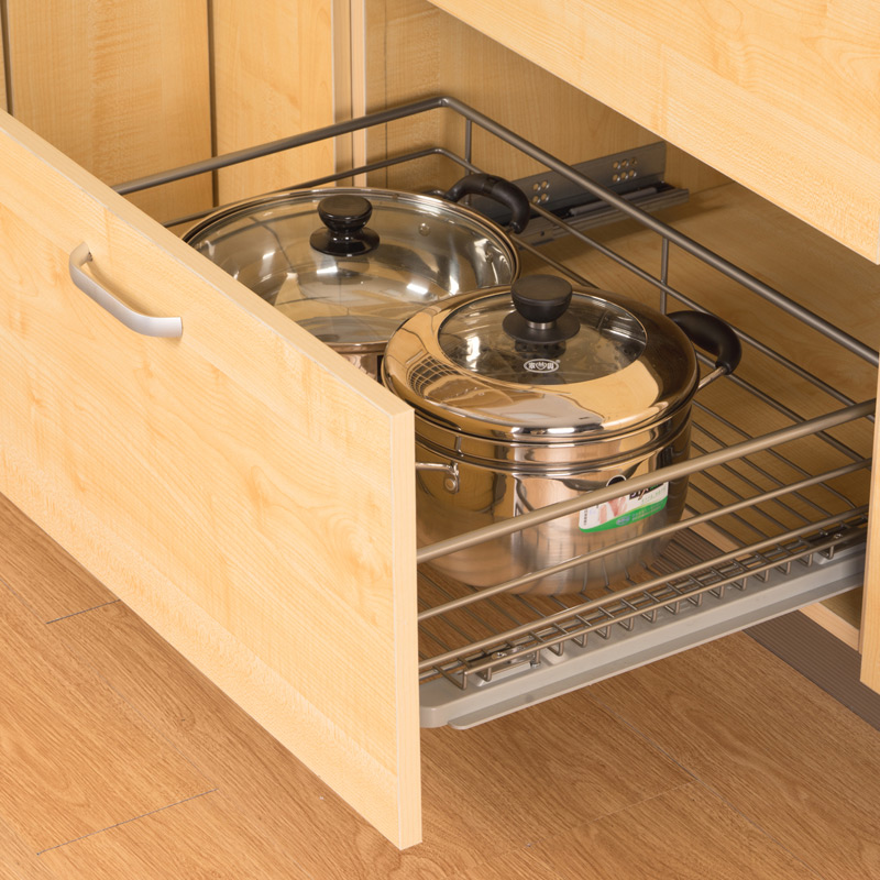 Multifunctional storage racks kitchen cabinets baskets drawer basket basket basket dishes flavored seasoning basket