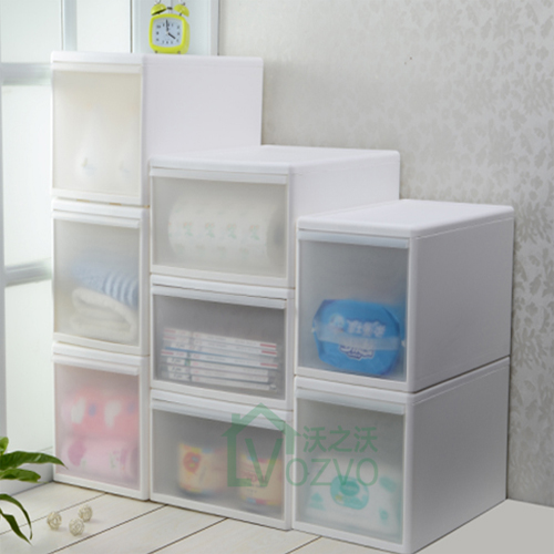 Multilayer single drawers drawer storage cabinets baby clothes children room plastic material snack combination lockers