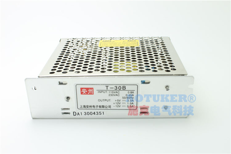 Multiple groups/multiple/t-30b triple output switching power supply 5 v/3a 12 v/1a -12 v/0.5a