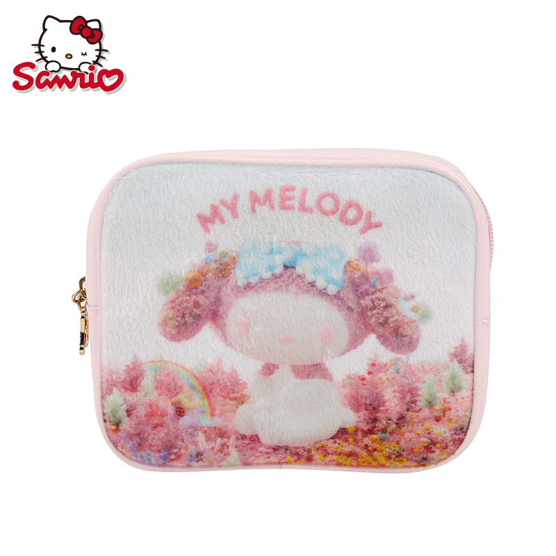 My melody melody big natural series of small bag cartoon printing cosmetic bag storage bag storage bag