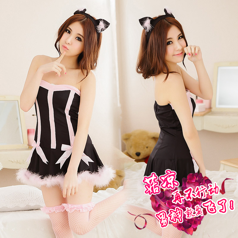 Mystery kyi cos. sexy cat girl bunny suit uniforms contains adult adult sexy lingerie female sao sm role play play