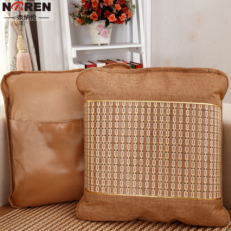 Naina lun summer summer mahjong mat cushion sofa cushion covers pillow lumbar pillow car pillow cushions electric brain set