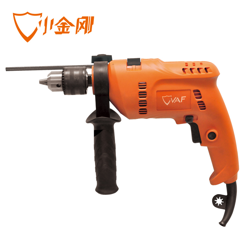 Named tetsuwan DI6-13S speed reversible impact drill pistol drill impact drill household electric tools