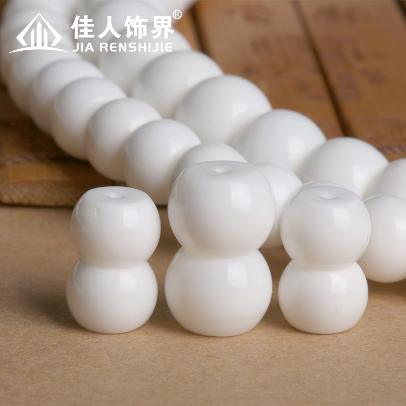 Natural white clam beads spacer beads top barrel beads loose beads le son bracelets semifinished xingyue bodhi accessories