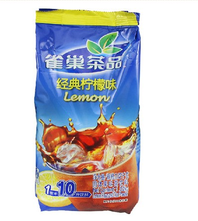 Nestle classic lemon tea powder 1020g/package lemon iced tea beverage brewed into tea powder powder free shipping