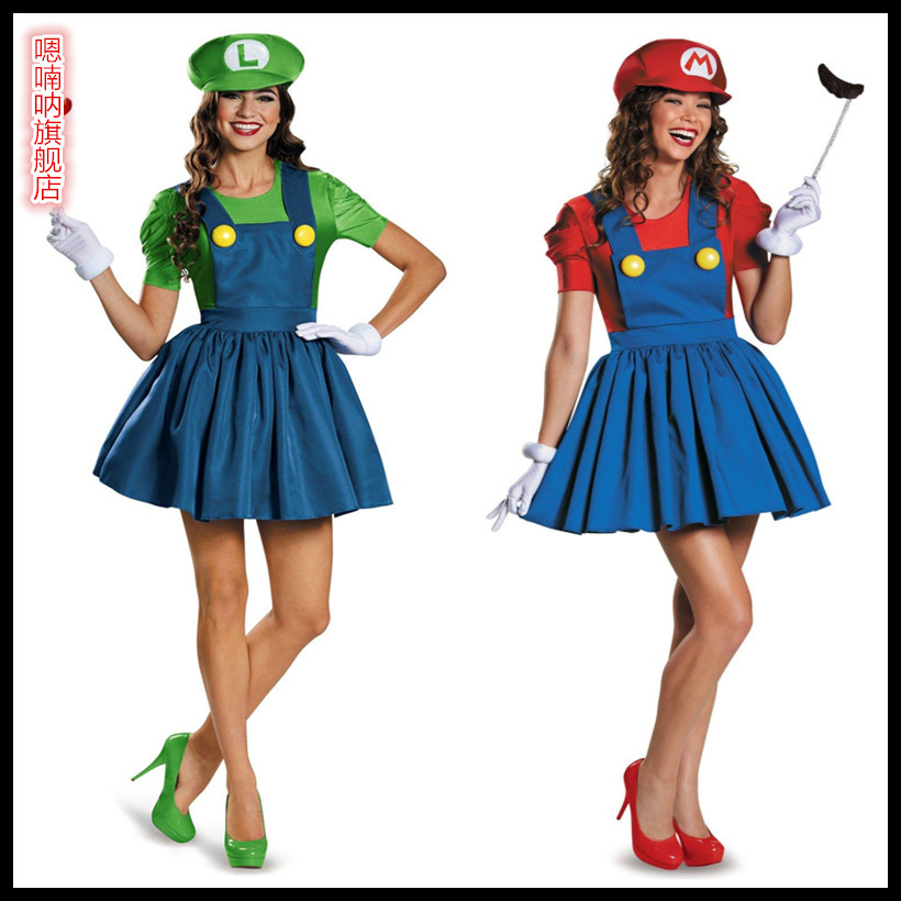 Get Quotations · New halloween party costume party costume adult costume louis super mario mary lovely men and women  sc 1 st  Shopping Guide - Alibaba & China Super Sonic Costume China Super Sonic Costume Shopping Guide ...