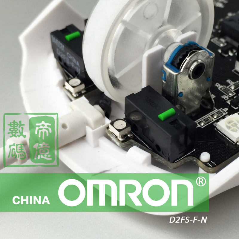 New licensed omron/omron green dot D2FS-F-N 0.85N mouse button micro switch