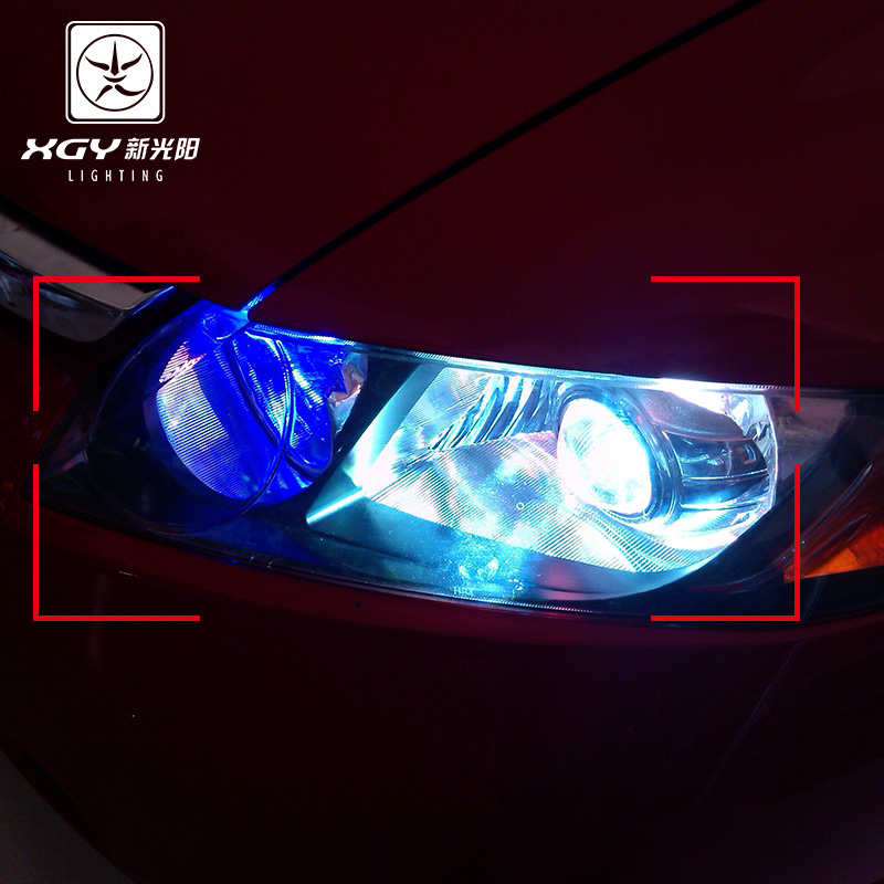 New light positronic civic fit front range dedicated car xenon lamp kit h4 h11 lamp hid xenon lamp qsp