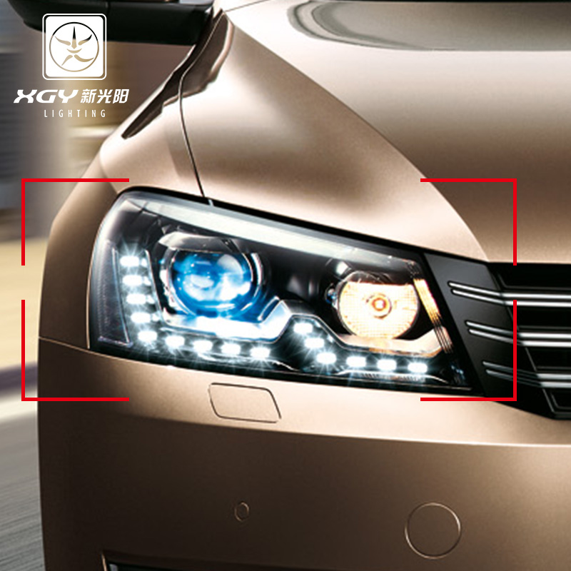 New light positronic santana passat polo dedicated car headlight hid xenon kit hid xenon lamp