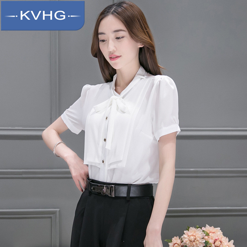 New slim hedging KVHG2016 fashion cultivating wild solid color shirt bottoming shirt lace shirt summer 1796